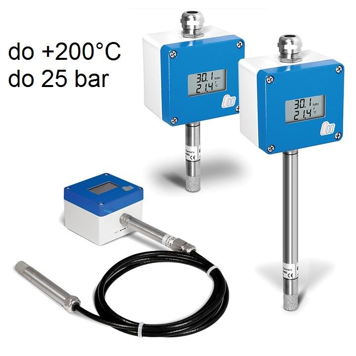industrijski merilniki vlage in temperature